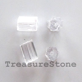 Earwire safety sleeve, Earring stoppers, 3x4mm. Sold per 100